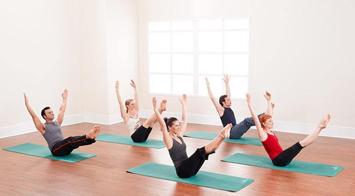 Pilates matwork classes