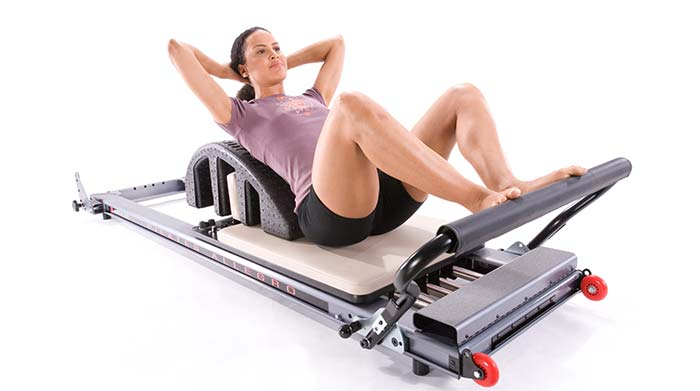 Pilates Reformer exercises for women