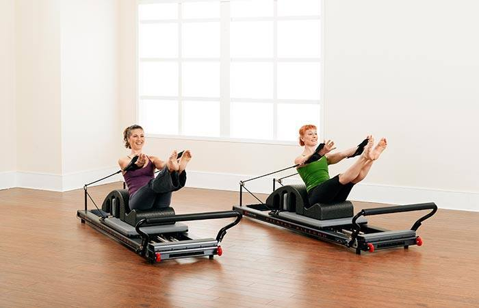 Pilates Reformer exercises