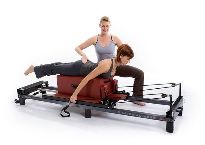 Private Pilates Reformer lesson