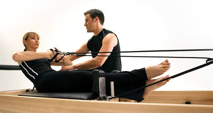 Private Pilates Reformer teaching